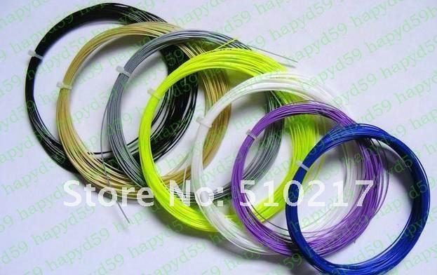 10pcs VECTRAN fiber badminton string  line  racket strings  badminton racquet line max28lbs free ship