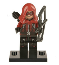 500Pcs XH 173 Building Blocks Super Heroes Avengers Red Arrow Roy Minifigures Red Arrow Roy Bricks Mini Figures Children Toys(China (Mainland))