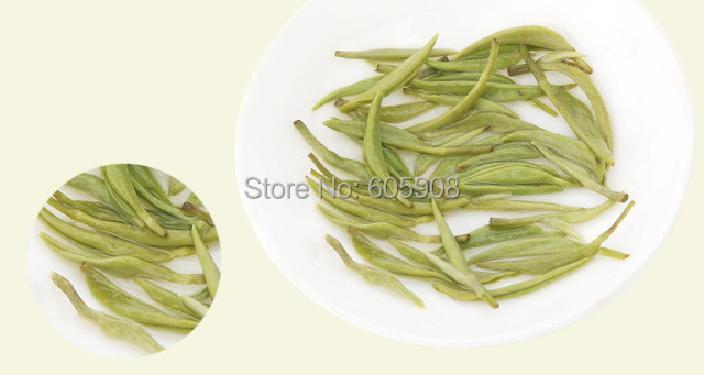 100g 2015 Organic Spring Green Tea Snail Shaped Dong Ting Bi Luo Chun