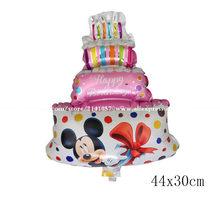 112cm ענק מיני מיקי מסיבת יום הולדת בלון ילדים קלאסי צעצועי מתנה רדיד קריקטורה תינוק מקלחת המפלגה קישוטים(China)