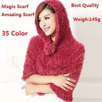 Factory Sale 2016 Fashion 35 Color DIY Multifunction Magic Scarf Amazing Echarpes Shawls Pashmina Scarves Women/Ladies Gifts - Yiwu Accessories store