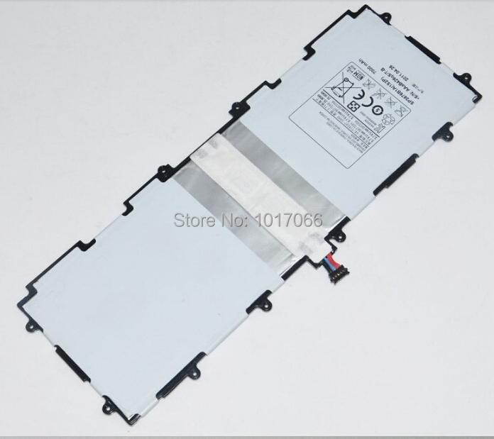 original Full Capacity 7000mAh for Samsung Galaxy Note 10.1 Tab 2 N8000 P5110 P5100 Battery Genuine 7000mah YL3437 free shipping