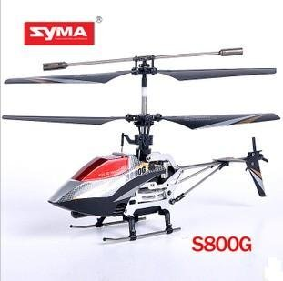 Freeshipping! 4CH SYMA RC helicopter S800G  Mini Radio Remote Control helicopter with GYRO  Toy for kids