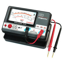 0.5-1000M Ohm 500V Insulation Resistance Tester w Testing Leads(China (Mainland))