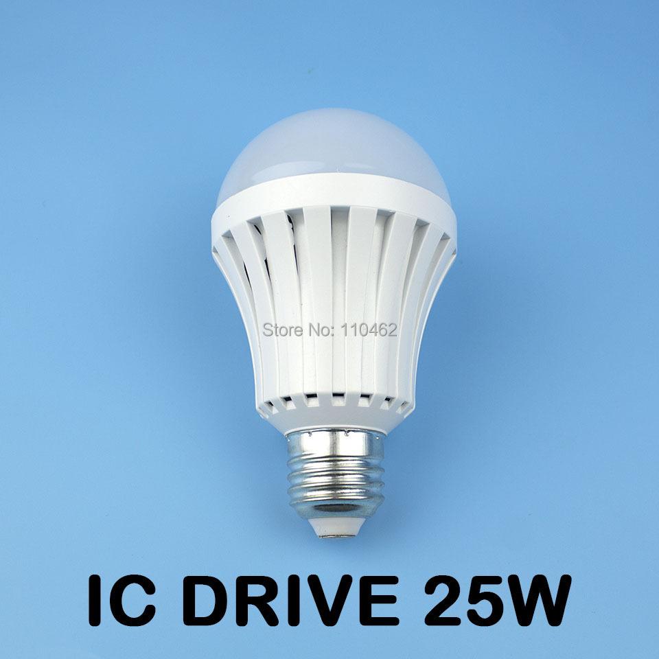 1pcs 3W 5W 15W 20W 25W Driver IC led lamp e27 220V 5730 SMD bulbs free shipping(China (Mainland))