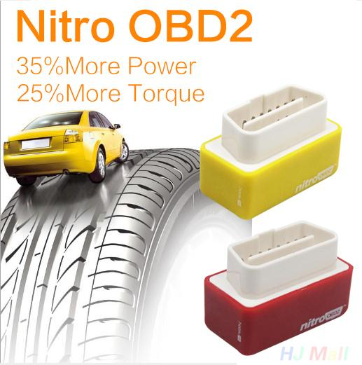 Nitro OBD2 Performance Chip Tuning Box Works For Diesel Fuel Oil Cars Red(China (Mainland))