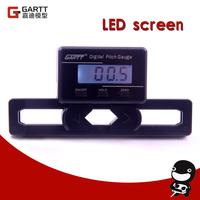 Freeshipping GARTT Helicopter Electronic Digital Pitch Gauge For RC Helicopter