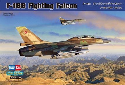 Hobby Boss 80273 1/72 F-16B Fighting Falcon(China (Mainland))