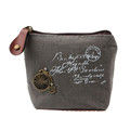 Ladies Cheapest Canvas Classic Retro Small Change Coin Purse Little Key Car Pouch Money Bag Girl