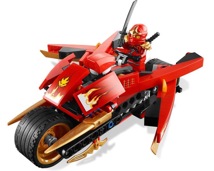 Bole 9754 phantom ninja blade runner Kai locomotive war serpent demon assembling building block toy boy(China (Mainland))