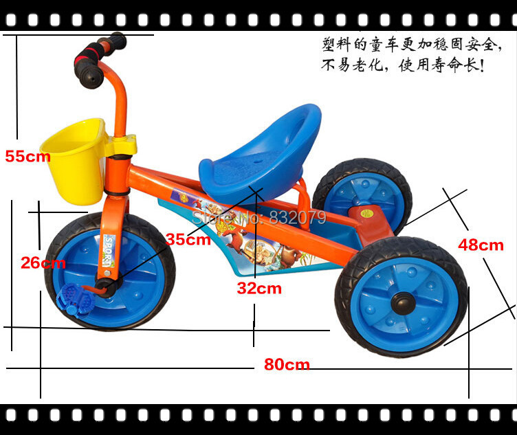 Baby Supply wholsales Kids Tricycle Bike,cheap kid tricycle/ New Ticycle Toy Popular baby toy kid tricycle(China (Mainland))