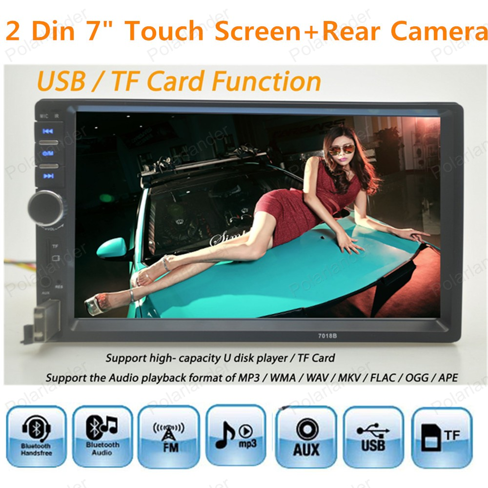 2016 new 7 inch Car radio 2 din car MP5 palyer car stereo player high quality bluetooth Rear View Camera(China (Mainland))