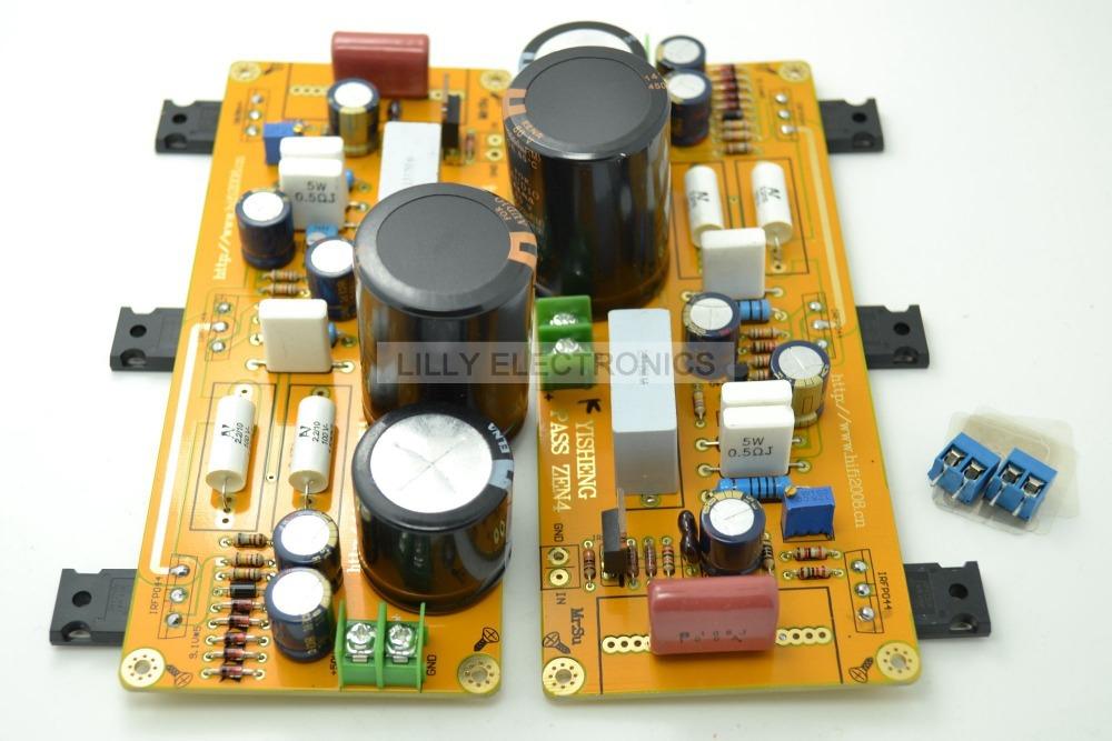 YS 2xPASS ZEN4 Class A 25W+25W Amplifier board IRF044