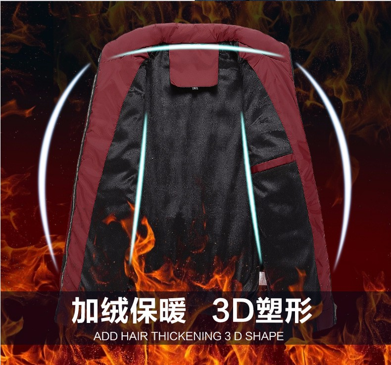 Скидки на Мужские Зимние Куртки И Пальто Новый Стиль Утолщение Теплый Тонкий вниз Хлопка Проложенный Парки Для Мужчин Зимняя Куртка М Манто Homme