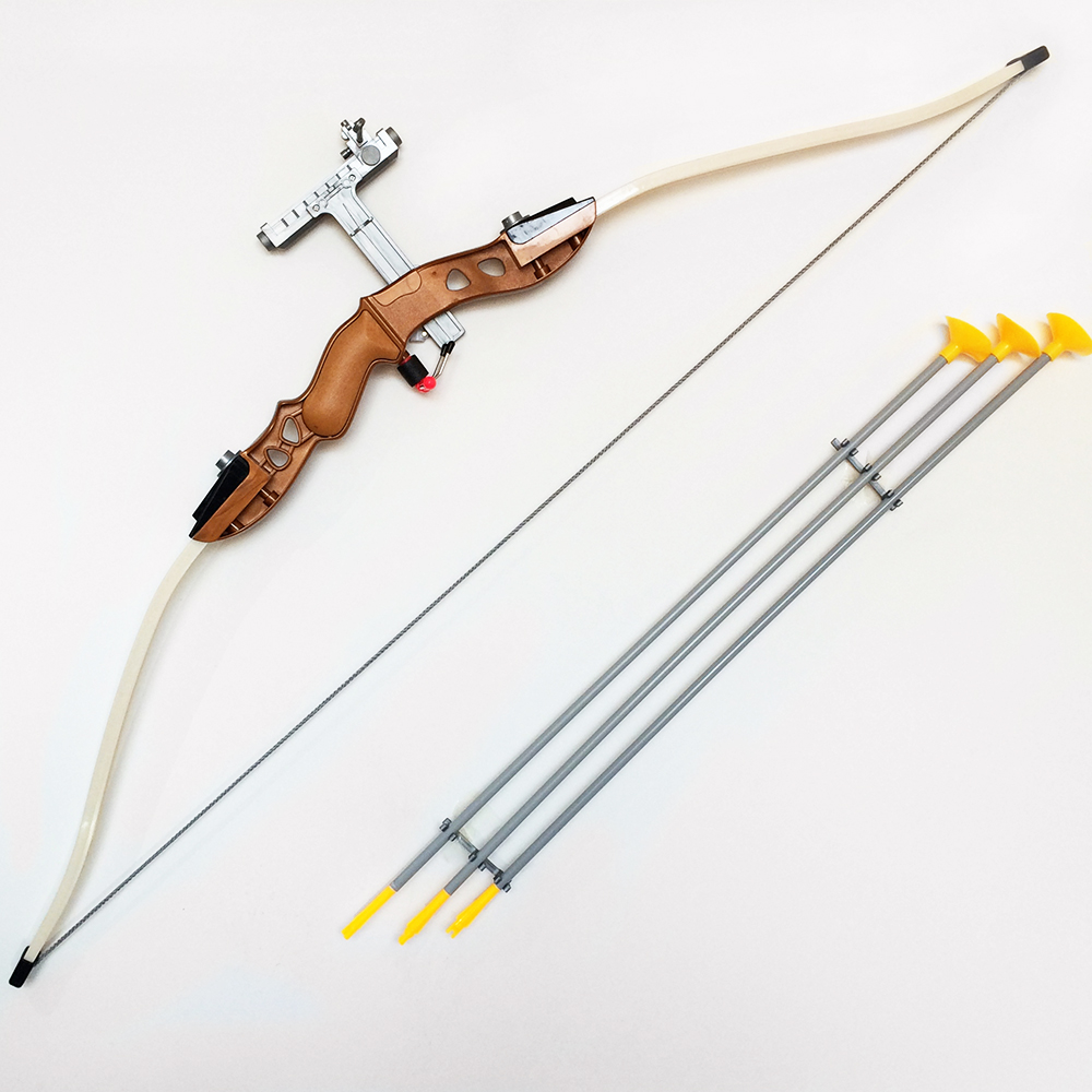 Free Shipping Simulation Toys Bow and Arrow Toys for Children s Outdoor Fun Sport