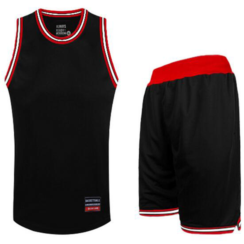 2016 Branded Blank Basketball Team Jerseys Bermuda Men Training Suit Sports Running Sets Plus Size Basketball Clothes Suits(China (Mainland))