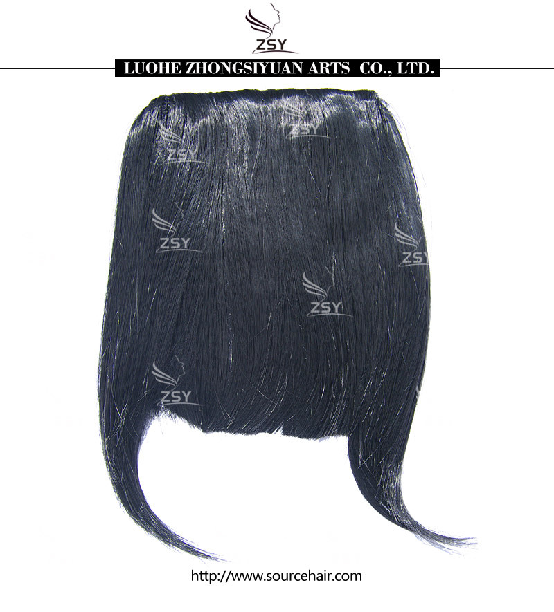 H1500 New Fashion Hot selling 100% synthetic hair bangs<br><br>Aliexpress