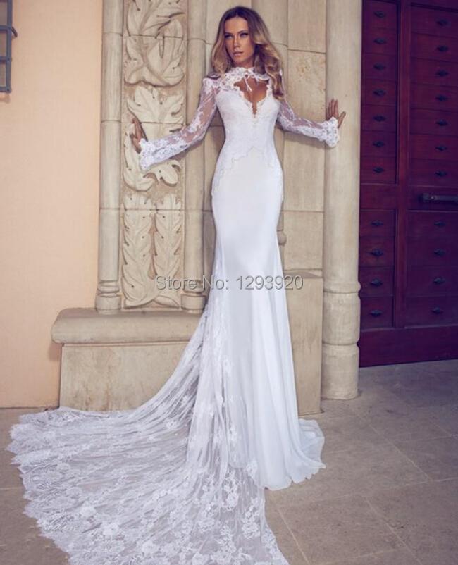 Wedding Dress Long Sleeve Backless : Turmec ? wedding dresses long sleeve backless