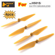 Free Shipping! Hubsan H501S X4 FPV RC Quadcopter Drone Original Spare Parts Blades Propeller