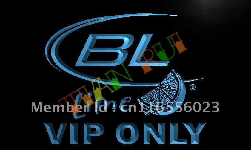 LA677- VIP Only Bud Lite Lime Beer LED Neon Light Sign(China (Mainland))