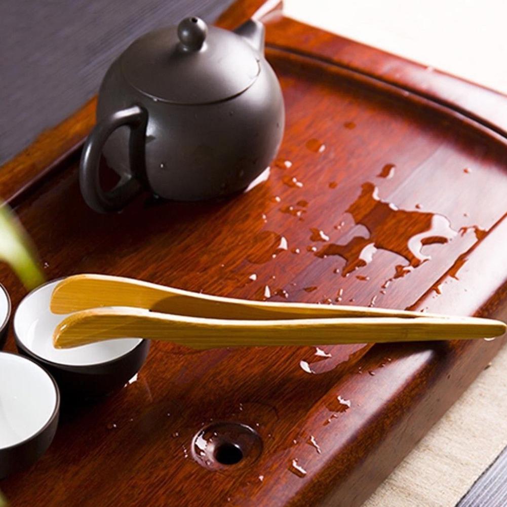 Чай Пинцет бекон деревянный бамбука щипцы чай клип Сахар еда тост салат кунгфу aeProduct.getSubject()