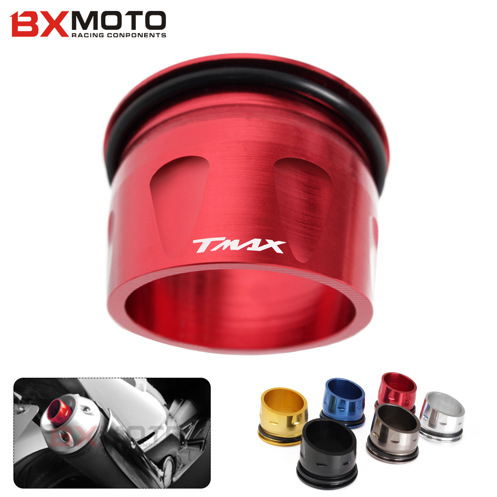 6 color Motorcycle accessories CNC Aluminum Exhaust Tip Cover For Yamaha T-max 530 T MAX TMAX 530 2012-2015(China (Mainland))