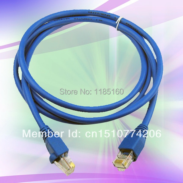 1PCS Free Shipping Useful RJ45 Ethernet Local Area DSL Router Network Cat5 Internet LAN Cable 1.5M CuCFZH(China (Mainland))