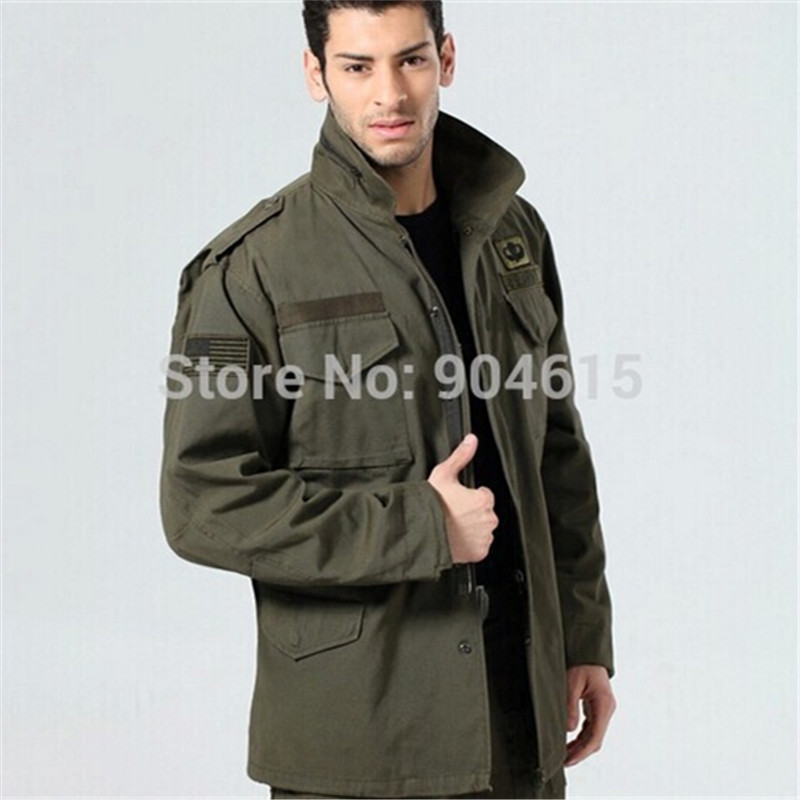 military tactical jacket for men Army fans outdoor M65 windbreaker jacket removable liner 101st Airborne Division