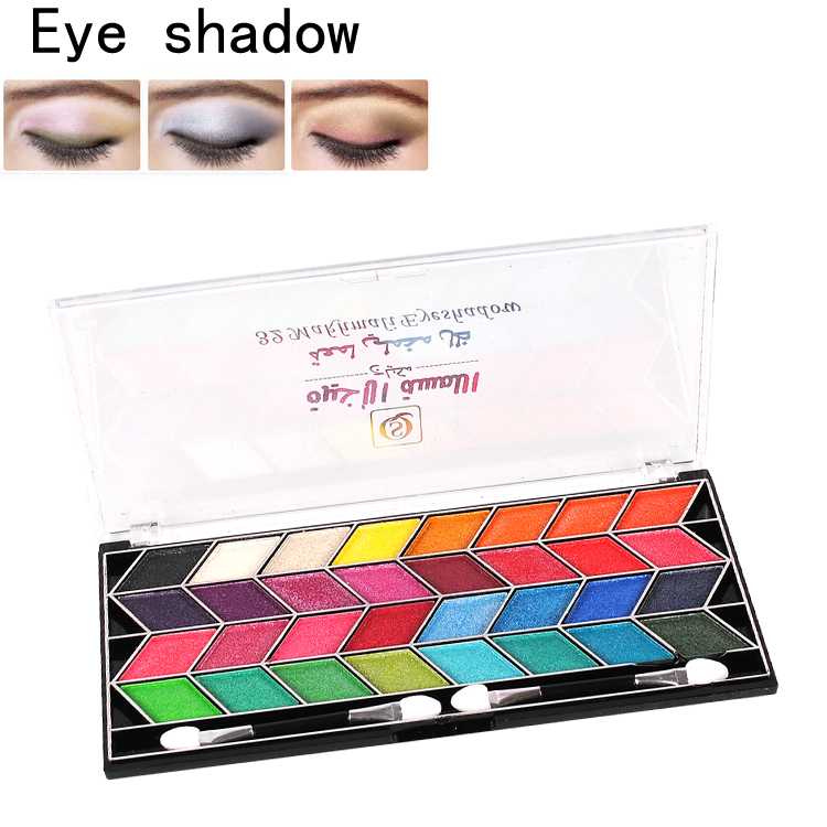 1Set 32 Color Mineral Color Eye Shadow Powder Makeup 2014 New Fathion Eyeshadow