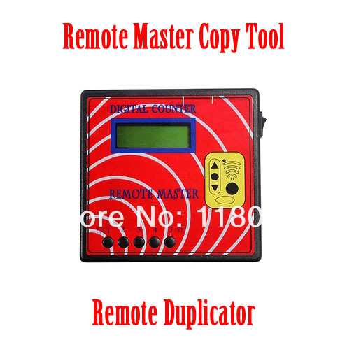 Promotion! master counter remote control copier transponder programmer,digital counter remote master key programmer(China (Mainland))