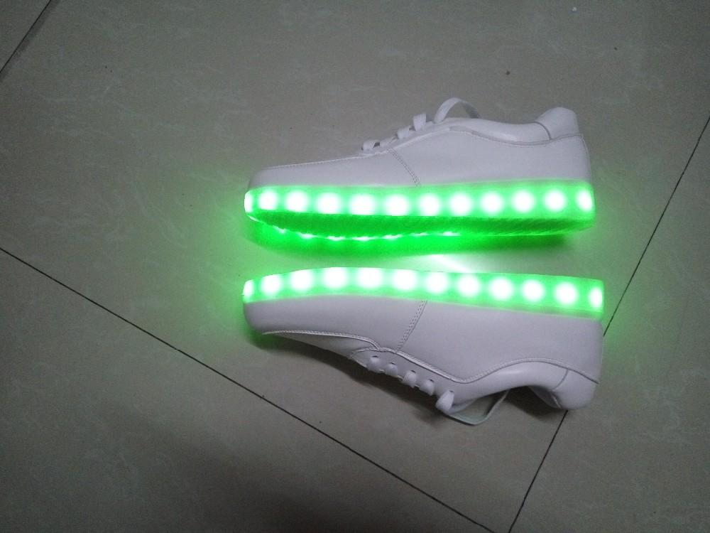 Мужские кроссовки 8 2016 LED & USB lumineuse led shoes