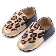 Baby kids Boys Girls Leopard Fur 3 Colors First Walker Infant Toddler Shoes(China (Mainland))