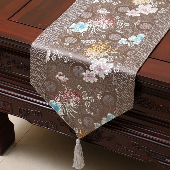 table runner european modern dining room wedding banque home