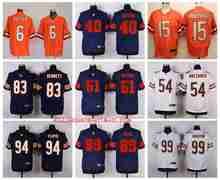 Stitiched,Chicago Bears Jay Cutler Brandon Marshall Gale Sayers Dick Butkus Brian Urlacher Mike Ditka Leonard Floyd Dan Hampton(China (Mainland))