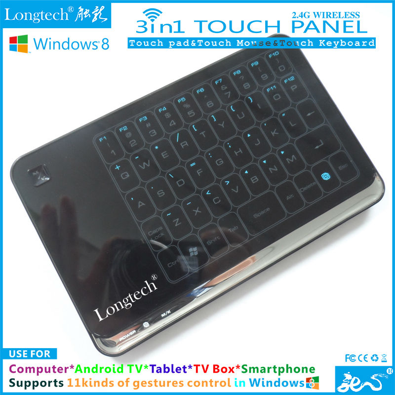 Win8 Touch Pad with 48 touch keys and supports win7/XP/Mac/Linux/Ubuntu PC Systems as well,,free shipping!(China (Mainland))