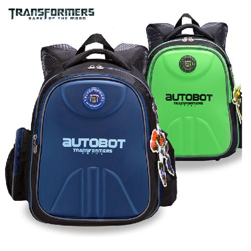Transformers cartoon orthopedic children elementary school bag books/shoulder backpack portfolio for boys class/grade 1-6(China (Mainland))