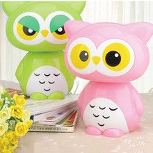 Cartoon Owl Led Night Light AC85-265V childrens Toys gift Lamp for Kids' Bedroom Room Decoration Night Light powered by USB(China (Mainland))