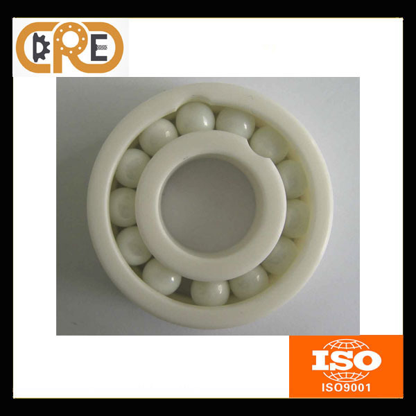 1 PC High Speed Anti Friction 6010 ZrO2 Material 50*80*16mm Ceramic Deep Groove Ball Bearings(China (Mainland))