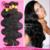 "7a unprocessed Malaysian Virgin Hair Body Wave 5pcs lot 10""-30"" Natural Black 100% Human Hair Weave Free Shipping"