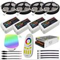 DC12V Led Light Waterproof 5050 SMD RGBW RGBWW Led Strip Flexible Tape 2 4G RGBW