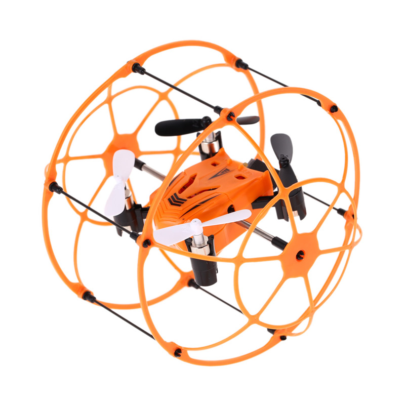 Skytech M66 4.5CH Alloy Infrared Gyro RC Quadcopter Wall Climbing Toy<br><br>Aliexpress