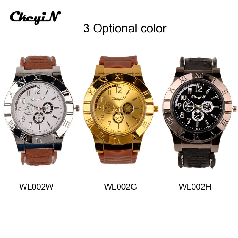 2 In 1 Rechargeable USB Watch Lighter Electronic Cigarette Lighter USB Charge FlamelessCigar Wrist Watches Lighter for Man 7405(China (Mainland))