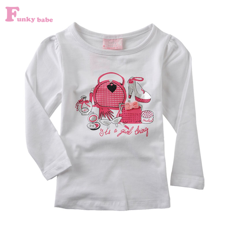 Funky Tops For Girls Funky Babe Printing Girls