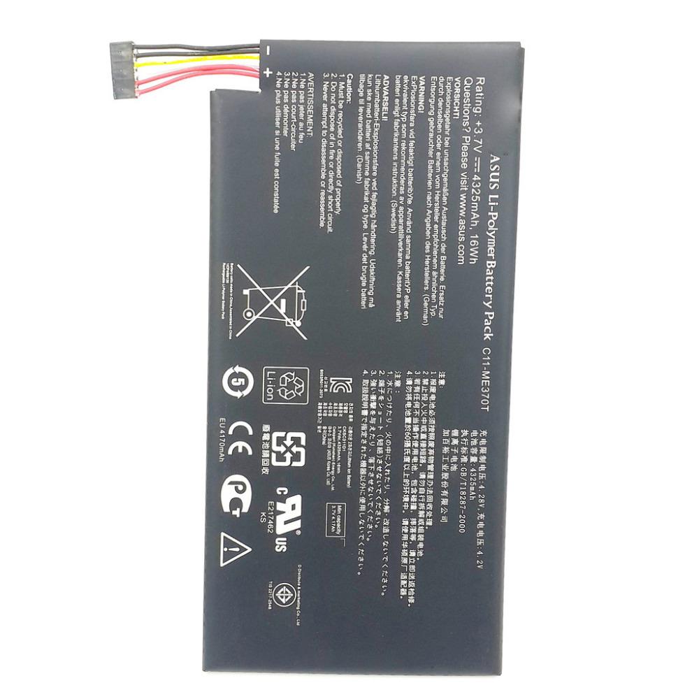 100 original battery for google ASUS nexus7 nexus 7 3 7v 4325mah C11 ME370T battery free