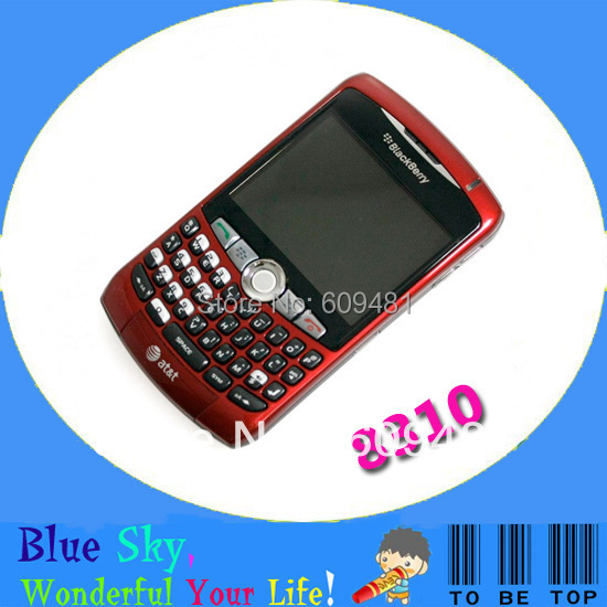 HK Post Free Shipping Good quality low price Refurbished original cell phones Blackberry 8310 curve quad band(China (Mainland))