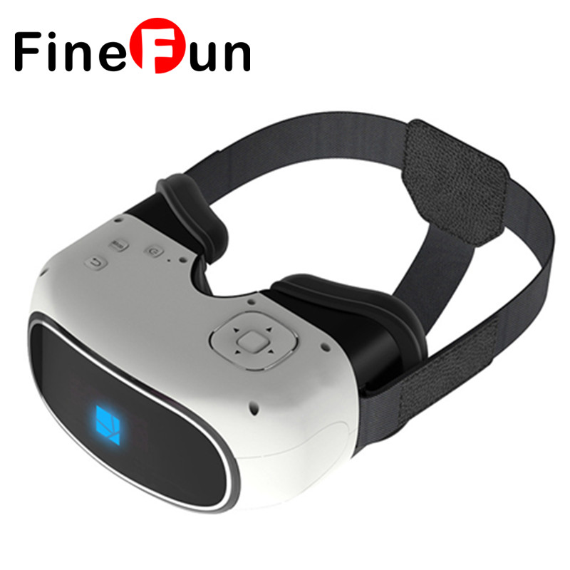 F Immersive VR BOX 5 Inch Quad Core 1GB RAM 8GB ROM Bluetooth 4.0 Virtual Reality 3D Glasses with 5000mAh Battery(China (Mainland))