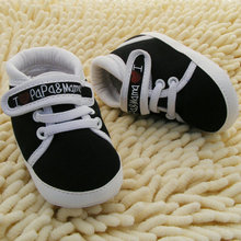 I Love Mum And Dad Lovely Baby Shoes Girl Soft Bottom Footwear Newborn Baby Shoes