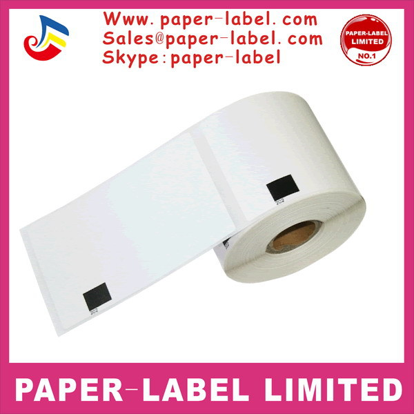 8x Rolls Brother Compatible Labels dk-11202 dk 11202 dk 1202 dk11202 dk1202 Thermal paper sticker Shipping label 62x100mm(China (Mainland))