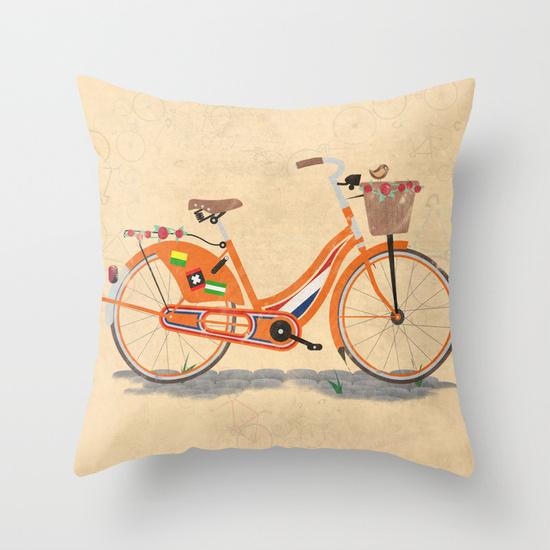 Cheap Decorative Throw Pillows Covers Bike Decorate For Sofa Chair