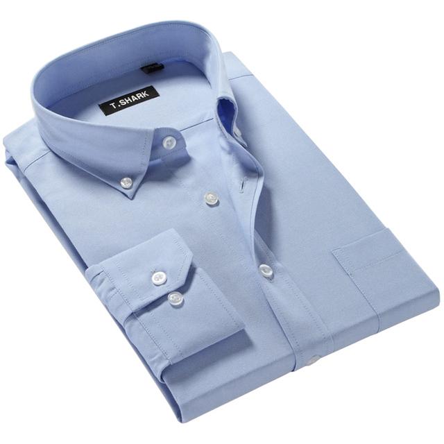 2016 новых осенью мужчины рубашки бизнес формальный длинным рукавом марка одежды ...